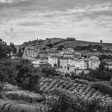 Dorp in Marken, Italië van