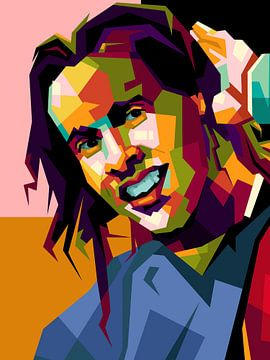 Ronaldinho verbazingwekkende popart van miru arts