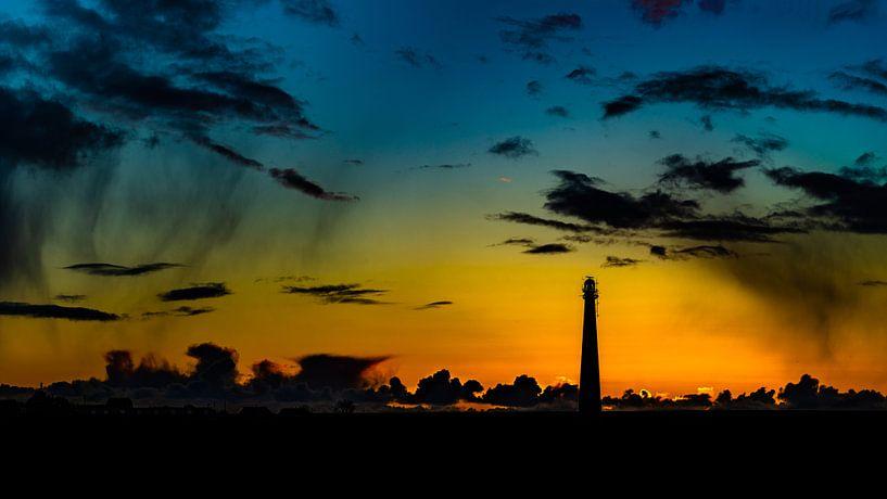 Sunset Lighthouse Lange Jaap van TCPhoto.nl