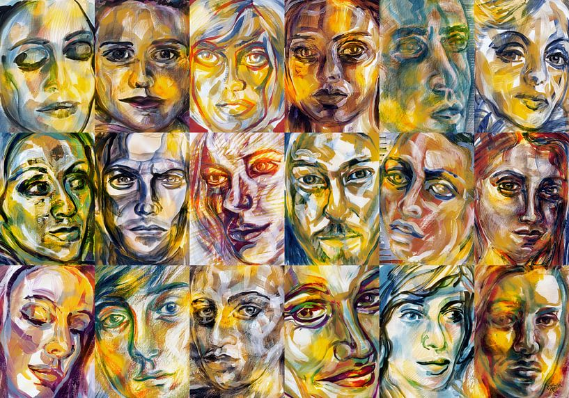 Licht Mensen van ART Eva Maria
