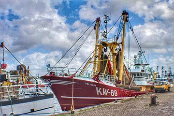 Fischerboot der Pelikan IJmuiden von Shirley Douwstra