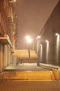 Noordereiland Rotterdam by Night