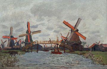 Mühlen bei Zaandam, Claude Monet
