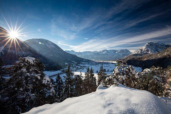 Winterstimmung im Werdenfelser Land von Andreas Müller