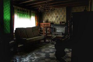 Verlaten huis interieur