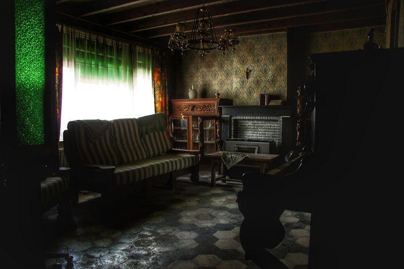 Verlaten huis interieur von Melvin Meijer