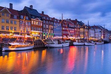 Nyhavn Kopenhagen van Wilbert Tintel