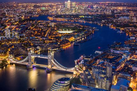 Die herrlichen Blick über London