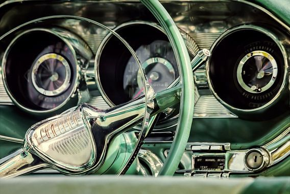 De klassieke Pontiac van Martin Bergsma