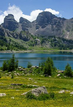 Lac D'Allos in de Provence, Frankrijk van Discover Dutch Nature