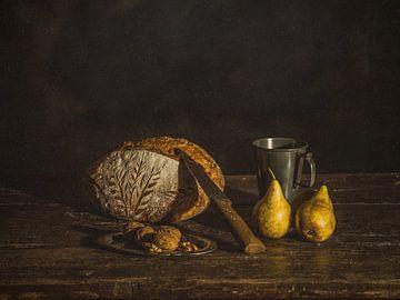 Vers gebakken brood van Miriam Meijer, en plein campagne.....