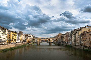 Ponte Vecchio, Florence italië van Jelmer Laernoes