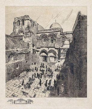 Jerusalem, Grabeskirche, Otto H. Bacher, 1938