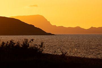 Ireland - Mayo - golden sunset I