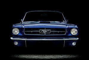 Ford Mustang in Blau
