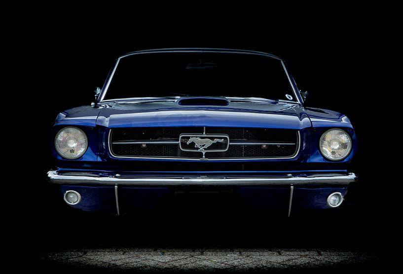 Ford Mustang in Blau von marco de Jonge