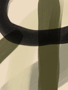 Moderne Kunst- tempus van YOPIE illustraties
