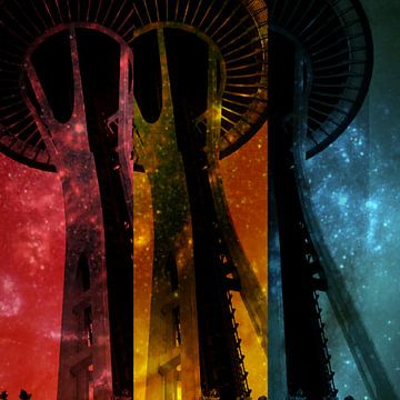 Seattle Space Needle van Christine aka stine1