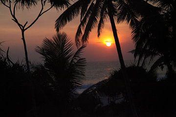 Sonnenuntergang von Marianne Evers