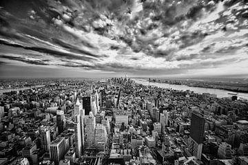 Nieuw from Empire State Building van Edward van Hees