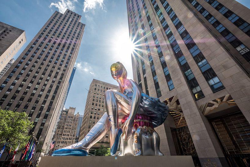 New York  Rockefeller Center van Kurt Krause