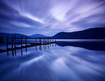 Derwent Water bei Tagesanbruch, Lakedistrict, England von Markus Lange