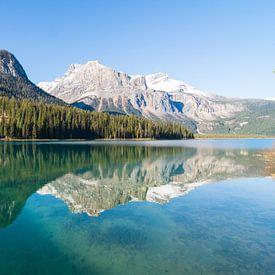 Emerald Lake, Yoho National Park van Johan van Venrooy