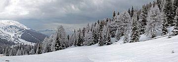 Winterpanorama in Tirol von Dirk Rüter