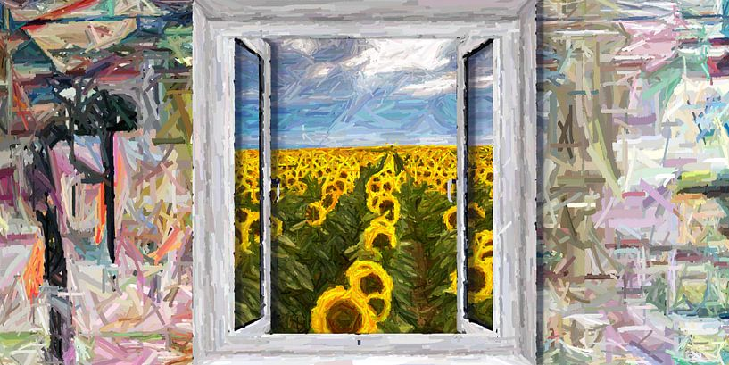 Das Fenster zum Garten von Marion Tenbergen