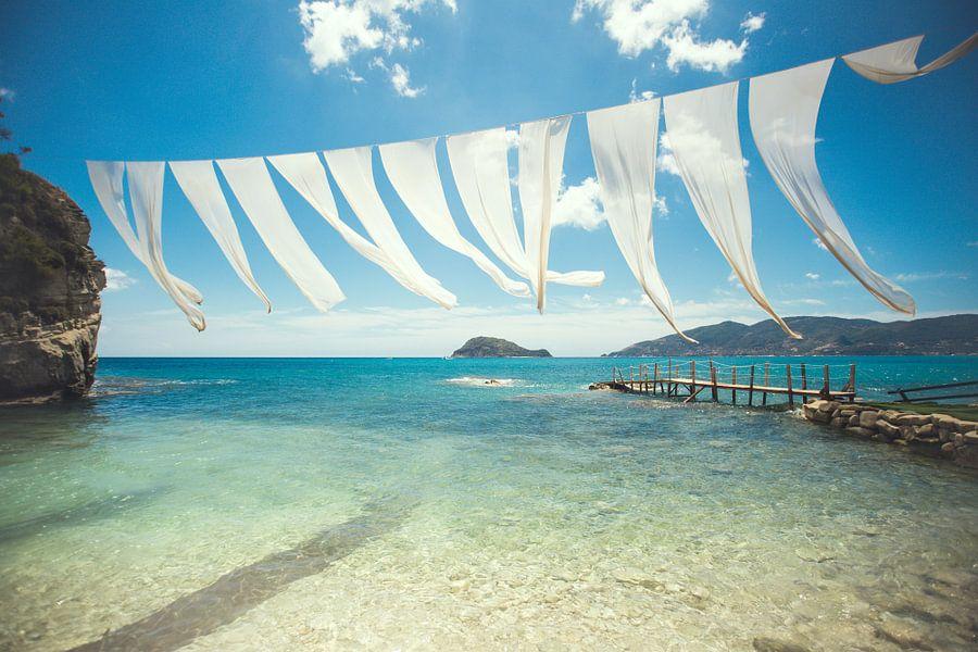 Grieks strand op Cameo Island