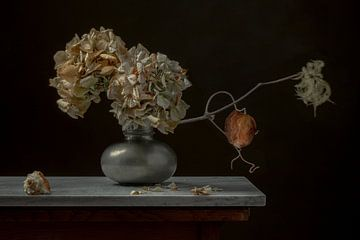 Stilleven 'Hortensias' van Willy Sengers
