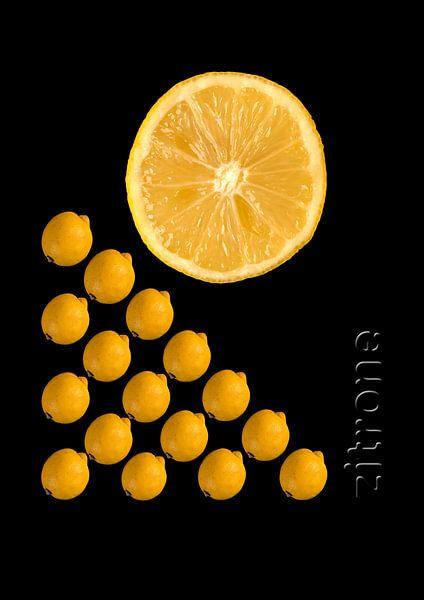 foodART - Zitrone von Erich Krätschmer