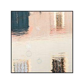 zeepbel spiegeling van Wendy van Kuler