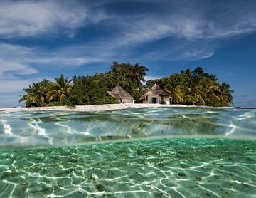 Bathala eiland, Malediven van Wethorse Heleen