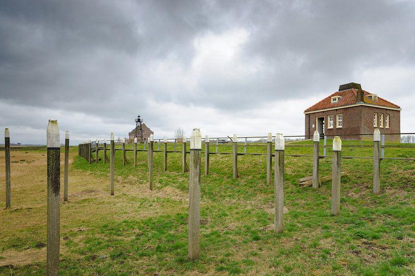 De oude haven van Schokland van Fotografiecor .nl