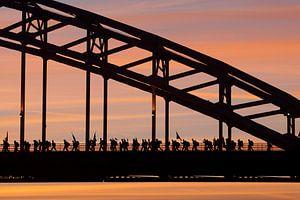 Start Nijmeegse Vierdaagse. van