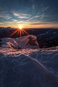 Sonnenuntergang am Dobratsch
