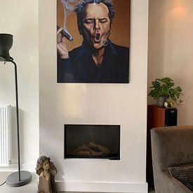 Kundenfoto: Jack Nicholson Schilderij von Paul Meijering, als akustikbild