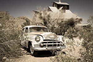 Oude auto, Chevrolet van