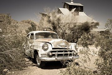 Altes Auto, Chevrolet von Inge van den Brande