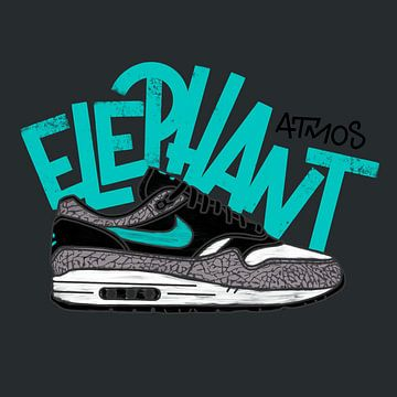 """Nike Air Max 1 """"Elefant"""" von Pim Haring"""