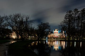 Avondklok in Amsterdam - Vondelpark