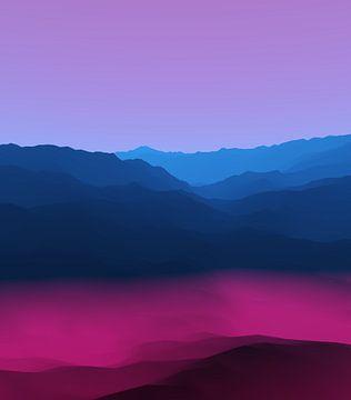 Prachtige bergen 3 van Angel Estevez