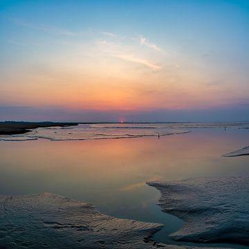 Paarlemoer zonsondergang