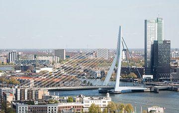 Die Erasmusbrücke in Rotterdam von MS Fotografie | Marc van der Stelt