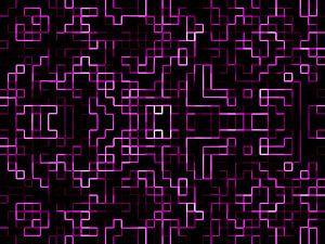 Pixels in Purple