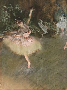 Edgar Degas. The Star