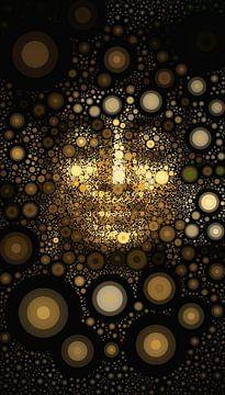 Buddha Circular von Michael Ladenthin