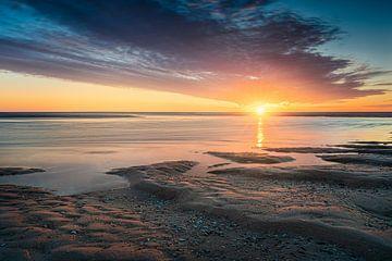 Landschap Kust en zonsondergang van Original Mostert Photography