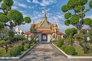 Le temple Wat Arun à Bangkok sur Bernd Hartner